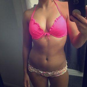 Pink Push Up Bikini